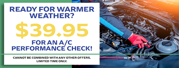 $39.95 A/C Performance Check