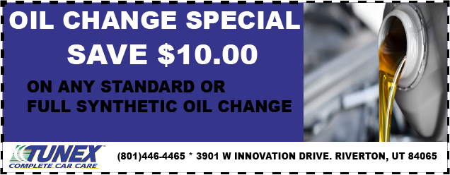 SAVE $10 OFF any Oil change