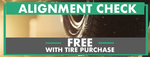FREE Alignment Check with Tire Purchase!